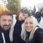 Οι οικογενειακές φωτογραφίες του Νίκου Χαρδαλιά που δημοσίευσε η σύζυγός του