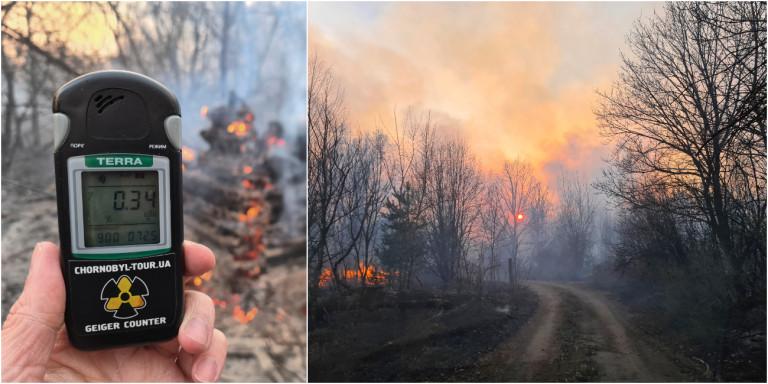 Κατασβέστηκε η πυρκαγιά κοντά στο πρώην πυρηνικό εργοστάσιο του Τσέρνομπιλ