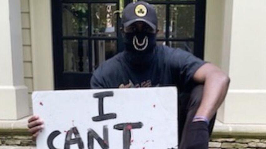 Ο Τζέιλεν Μπράουν οδήγησε 15 ώρες για να πάει σε πορεία διαμαρτυρίας για τον θάνατο του Τζορτζ Φλόιντ