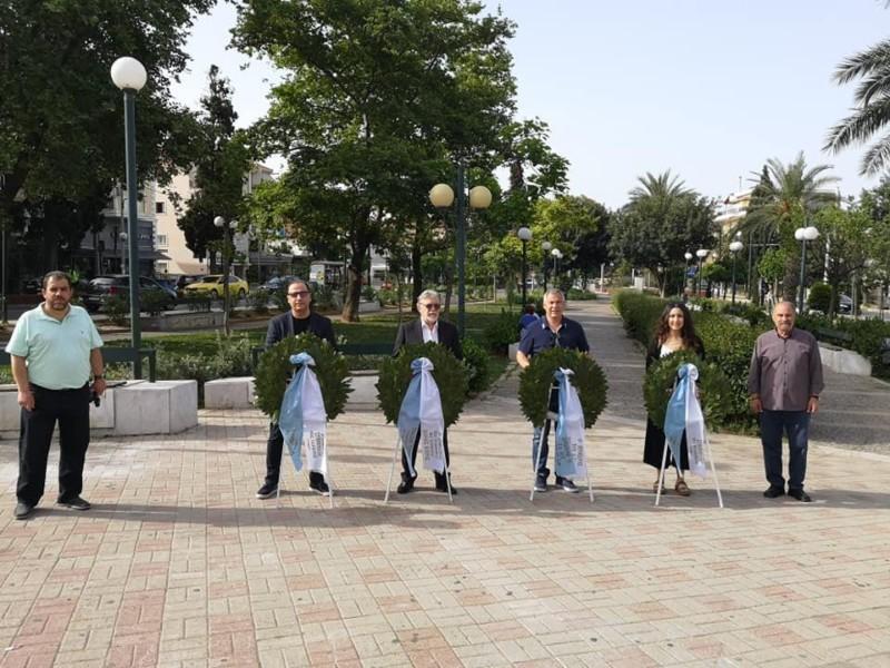 Ο δήμος Νέας Φιλαδέλφειας-Χαλκηδόνας τίμησε τη σημερινή ημέρα μνήμης (ΦΩΤΟ)