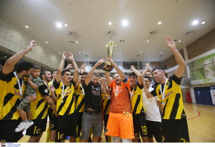Οριστικό: Πρωταθλήτρια στο Futsal η ΑΕΚ! (ΦΩΤΟ)