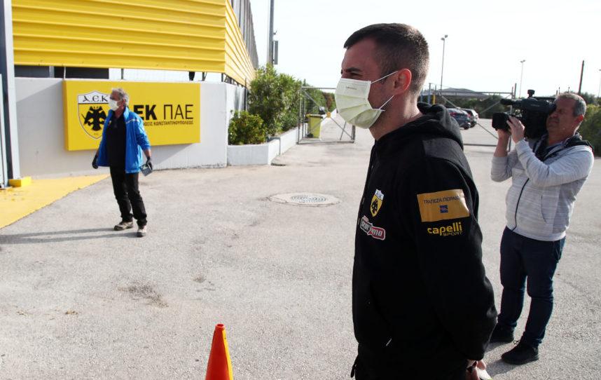 Εικόνες από την επιστροφή της ΑΕΚ στις προπονήσεις στα Σπάτα