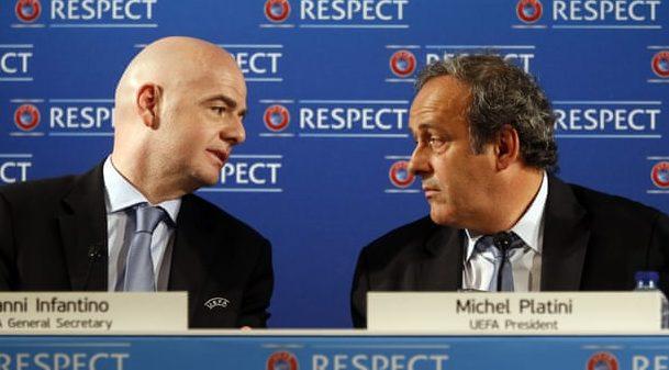 «Επίθεση» Πλατινί σε Ινφαντίνο: «Βγήκε πρόεδρος της FIFA με δόλια μέσα, πρέπει να παραιτηθεί»