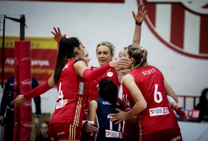 Σε κάθε άθλημα και άλλη... άποψη ο Ολυμπιακός: «Η απόφαση της ομοσπονδίας βόλεϊ περιβάλλει το αίσθημα δικαίου»