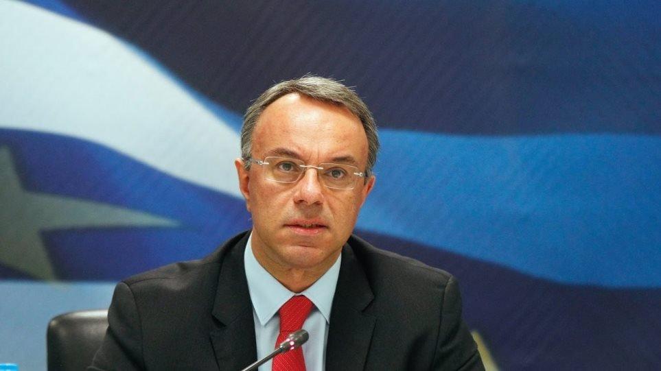 Σταϊκούρας: «Υπό εξέταση η μείωση ΦΠΑ στην εστίαση -Υποστήριξη στο σύνολο των δανειοληπτών»