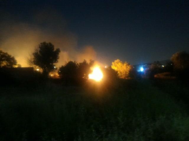 Ανω Λιόσια: Φωτιά κοντά στο νέο γήπεδο μπάσκετ της ΑΕΚ (ΦΩΤΟ)