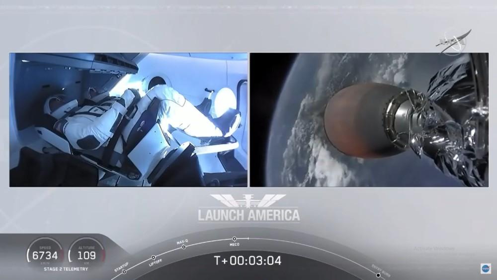 Γράφτηκε ιστορία: Εκτοξεύτηκε με επιτυχία ο πύραυλος της Space X του Έλον Μασκ! (VIDEO)