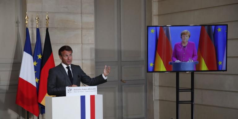Κορωνοϊός: Πρόταση Μέρκελ - Μακρόν για ευρωπαϊκό «ταμείο ανάκαμψης» 500 δισ. ευρώ