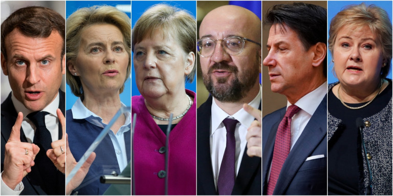 To κοινό άρθρο 6 ηγετών της ΕΕ: Πώς θα νικήσουμε τον κορωνοϊό