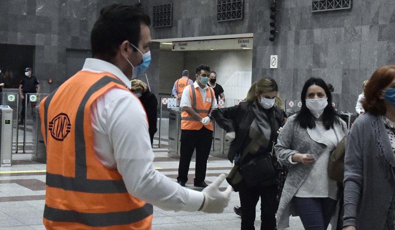 Αρση μέτρων: Μουδιασμένοι οι επιβάτες σε Μετρό, λεωφορεία -Ελεγχοι για μάσκες (ΦΩΤΟ-VIDEO)