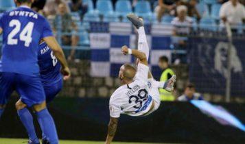 Κορυφαίο γκολ της σεζόν το ψαλιδάκι του Βέλλιου (VIDEO)
