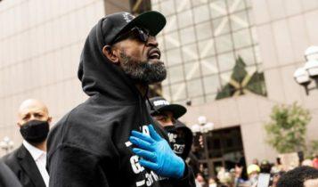 «Θέλω 30 λεπτά με τους αστυνομικούς που σκότωσαν τον Φλόιντ» (VIDEO)