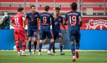 Bundesliga: Πάρτι... τίτλου της Μπάγερν στο Λεβερκούζεν, η Πάντερμπορν «σόκαρε» τη Λειψία