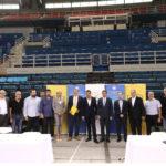 Εικόνες από τις υπογραφές ΑΕΚ-ΓΓΑ για το κλειστό στα Λιόσια