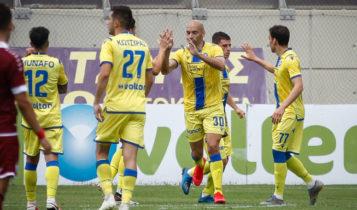 Λάρισα - Αστέρας Τρίπολης 1-2: Ανατροπή και νίκη για τους Αρκάδες