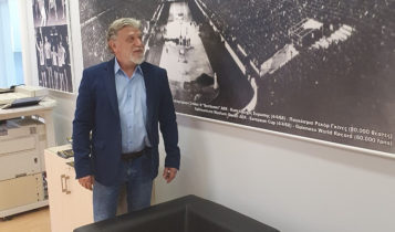 Στα γραφεία της ΚΑΕ ΑΕΚ ο Γιάννης Βούρος (ΦΩΤΟ)