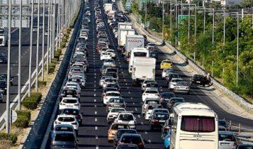 Μποτιλιάρισμα και χάος στους δρόμους της Αθήνας (ΦΩΤΟ)