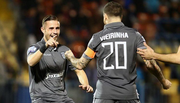 Δεν προπονήθηκαν Βιεϊρίνια και Πέλκας-Αμφίβολοι για το ματς με την ΑΕΚ
