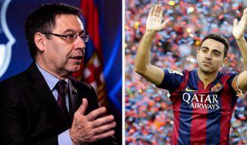 Μπαρτομέου: «Ο Τσάβι θα γίνει προπονητής της Μπαρτσελόνα στο μέλλον»