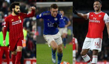 «Μάχη» για το χρυσό παπούτσι στην Premier League