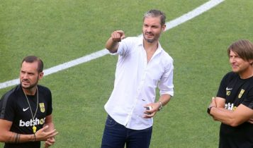 Χαριστέας: «Η διαιτησία είναι ο καρκίνος του ελληνικού πρωταθλήματος»