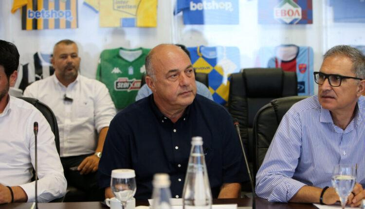 Super League: Αποφασίζει για αναδιάρθρωση με Μπέο και Αλαφούζο