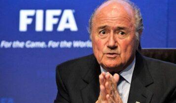 Μπλάτερ κατά Ινφαντίνο: «Πρέπει να φύγει από τη FIFA»