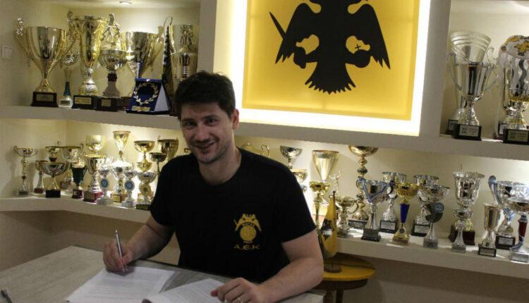 Φλέγκας: Απέκτησε κάρτα φίλου ΑΕΚ το νέο απόκτημα της ομάδας (VIDEO)