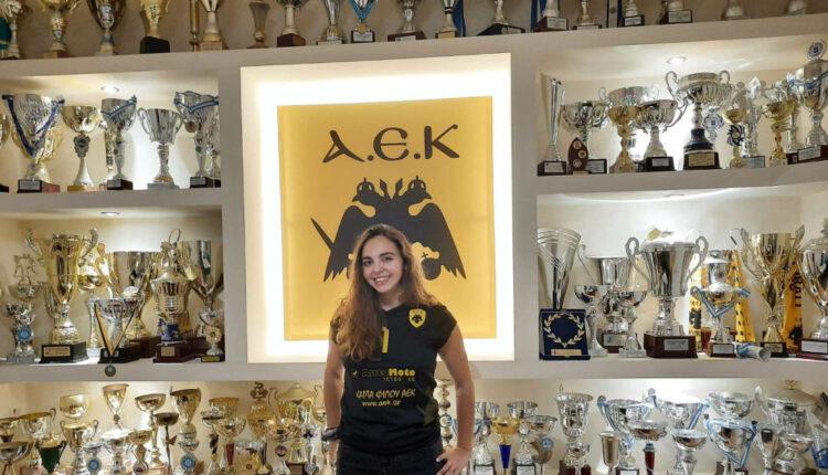 Βόλεϊ: Ανακοίνωσε την Κωνσταντίνα Πατέλη η ΑΕΚ