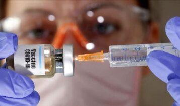 Κορωνοϊός: Ασφαλές το εμβόλιο της Οξφόρδης, παραγωγή 1 εκ. δόσεων έως τον Σεπτέμβρη
