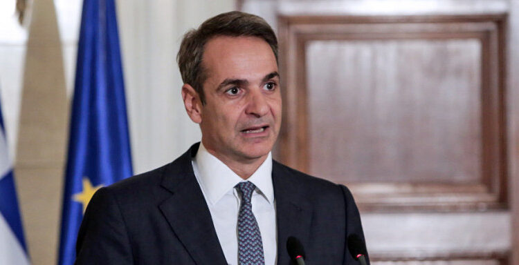 Ο Κυριάκος Μητσοτάκης θα ενημερώσει αύριο τους πολιτικούς αρχηγούς