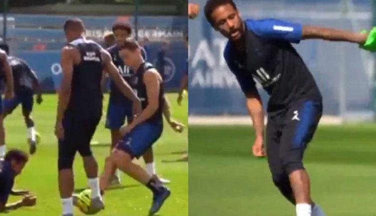 Εμπαπέ και Νεϊμάρ «μαγεύουν» στις προπονήσεις και ανυπομονούν για το Champions League (VIDEO)