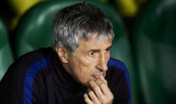 Σετιέν: «Δεν ξέρω αν θα είμαι προπονητής της Μπαρτσελόνα στο Champions League»