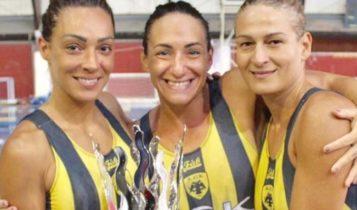 Μαρία Τσουρή: «Η αφιέρωση του πρωταθλήματος της ΑΕΚ στο πόλο γυναικών» (ΦΩΤΟ)