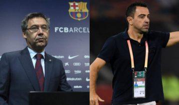 Εξαλλος ο Μπαρτομέου με Τσάβι: «Απέρριψε δύο φορές πρόταση μας για να αναλάβει προπονητής»
