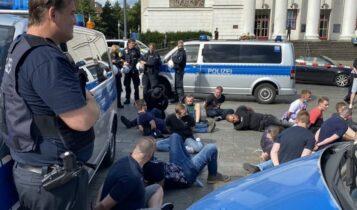 Επεισόδια χούλιγκαν και συλλήψεις στο φιλικό Φέγενορντ-Ντόρτμουντ