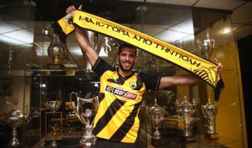 Ινσουα: «Εγινε αυτό που ήθελα, με την ΑΕΚ θα κατακτήσω πολλούς τίτλους»
