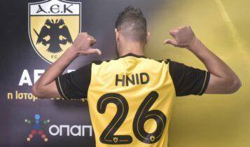 Εικόνες από την παρουσίαση και τις υπογραφές του Χνιντ