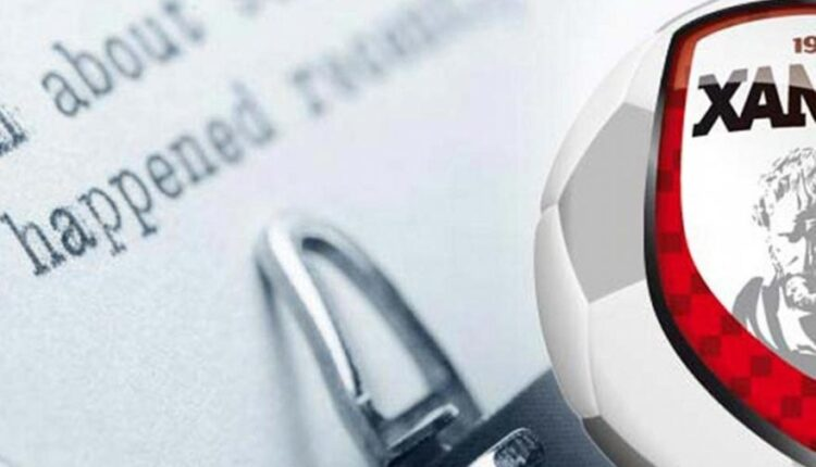 Ξάνθη: Νέο εξώδικο σε ΕΠΟ και Super League