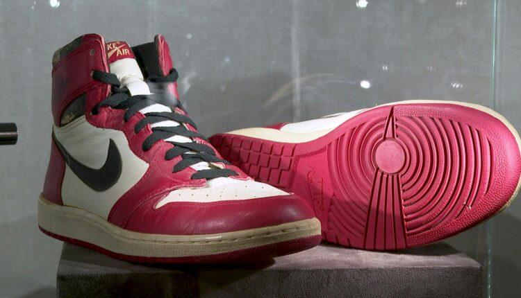 Πουλήθηκαν 615.000 δολάρια τα Air Jordan 1 (ΦΩΤΟ)