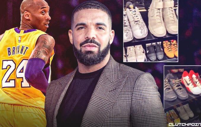 Η απίστευτη συλλογή του Drake από παπούτσια του Κόμπε (VIDEO)