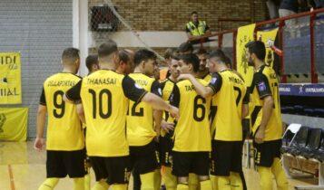 ΑΕΚ: Το πρόγραμμα των αγώνων στην Futsal Super League