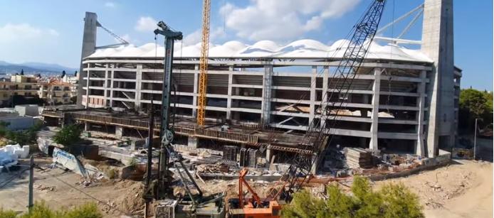 «Αγιά Σοφιά»: Σημερινά πλάνα από τo γήπεδο της ΑΕΚ (VIDEO)