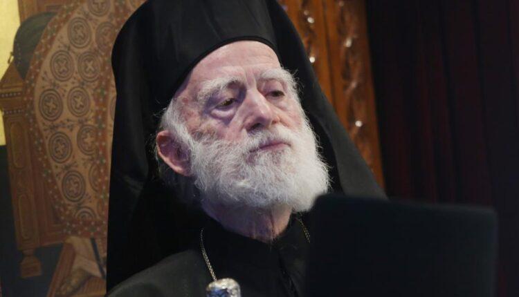 Αρχιεπίσκοπος Κρήτης Ειρηναίος: «Μη φοράτε μάσκες στους ναούς, φυλακίζετε την πίστη σας»