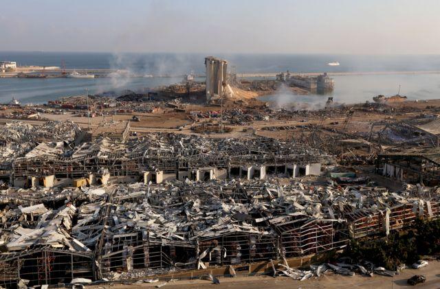 Εκρηξη στη Βηρυτό: Πέντε Ελληνες τραυματίες -Δύο σε σοβαρή κατάσταση