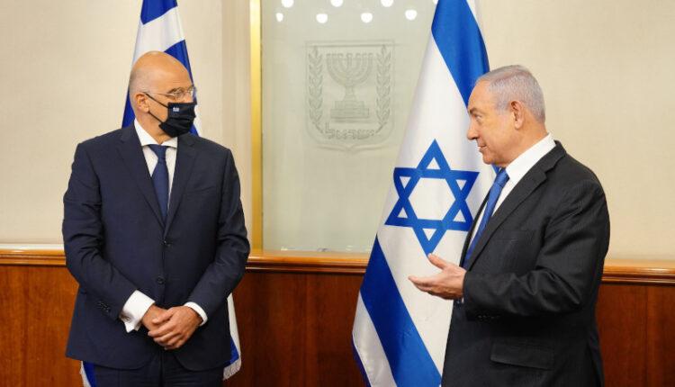Δένδιας: Στο Ισραήλ ο Ελληνας ΥΠΕΞ -Συνάντηση με Νετανιάχου (ΦΩΤΟ)