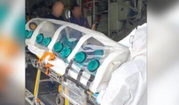 Κορωνοϊός: Ανήλικος μεταφέρθηκε εσπευσμένα στο Ηράκλειο μέσα σε ειδική κάψουλα