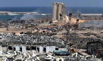 Βηρυτός: Drone δείχνει το μετά της καταστροφής (VIDEO)