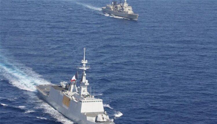 Ελληνογαλλική ναυτική άσκηση στην ανατολική Μεσόγειο -Ηχηρό μήνυμα στην Αγκυρα (VIDEO)