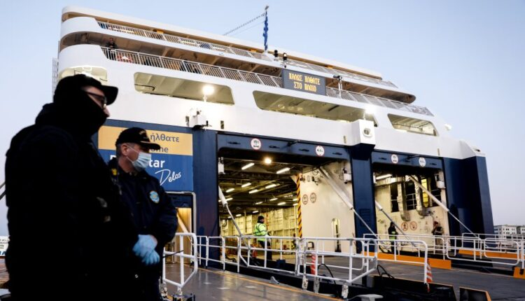 Αυξημένοι έλεγχοι στα λιμάνια για τα μέτρα προστασίας